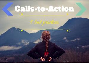 Calls-to-Action best practices