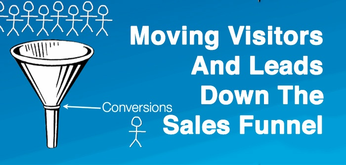 5 Ways To Move Visitors And Leads Down The Sales Funnel