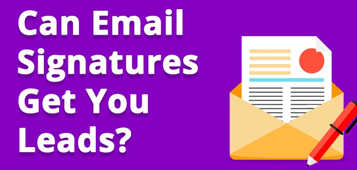 Email signatures that drive conversions
