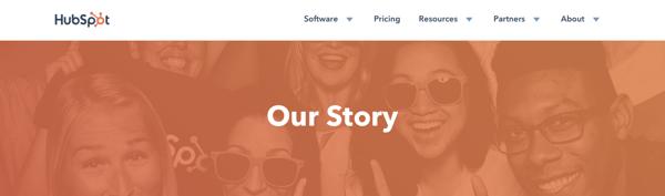 humanizing brand story