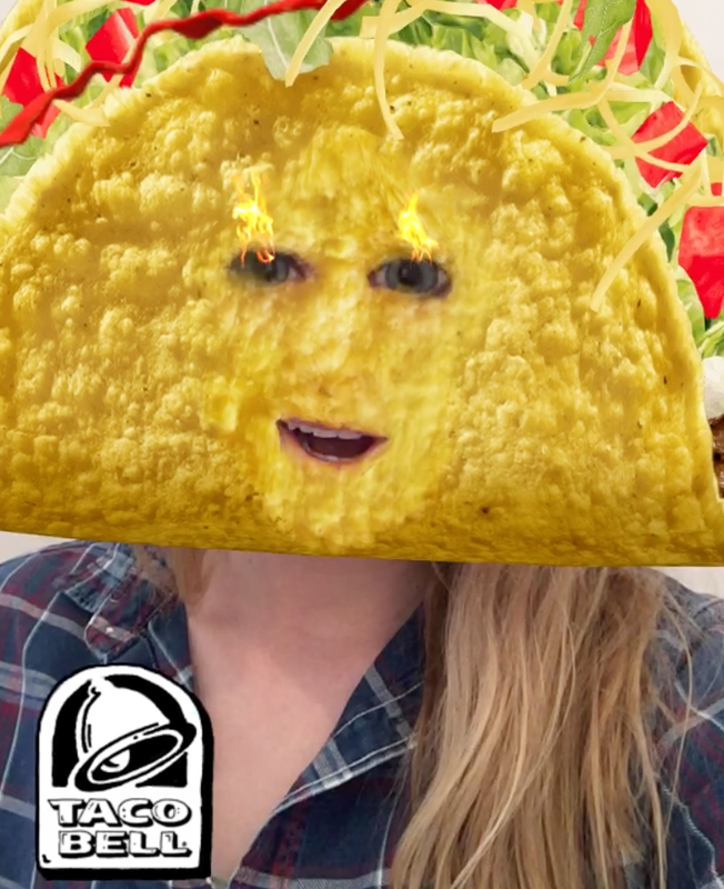 Taco Bell and Snapchat team up to create an unusual campaign