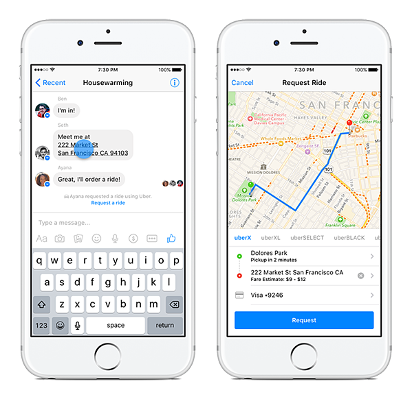 Uber chatbot