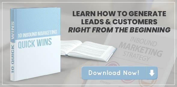 10 Inbound Marketing Quick Wins